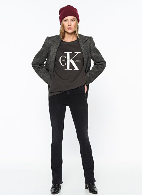 Calvin Klein Jean Pantolon | Slim Boot Cut Siyah